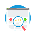 complete keyword research icon